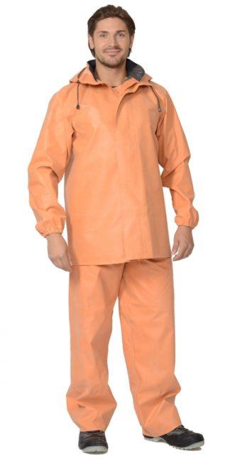 "Костюм ""РОКОН-БУКСА""  рыбацкий: куртка, полукомбинезон (тк. 1045) оранжевый АНАЛОГ 02930"