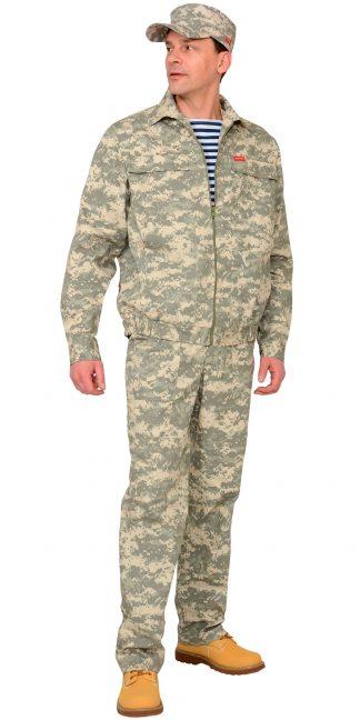 "Костюм ""СИРИУС-Рысь"" куртка, брюки (тк. Рип-стоп 210) КМФ Пустыня"