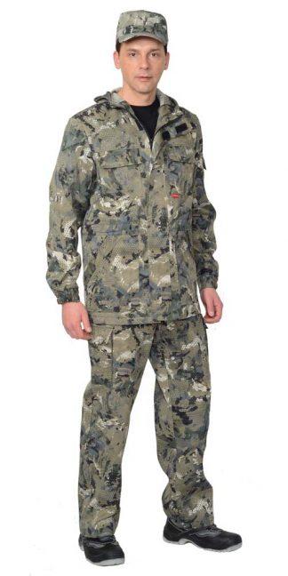 "Костюм ""Горизонт"" куртка, брюки (тк. Кроун 230) КМФ Степь"