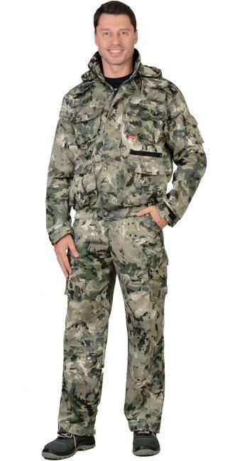 """Костюм """"СИРИУС-Пума"""" куртка, брюки (тк. Грета 210) КМФ Степь"""