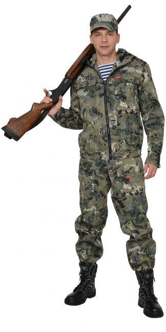 "Костюм ""СИРИУС-Рыболов СТ"" куртка, п/к (тк.Кроун 230) КМФ Степь"