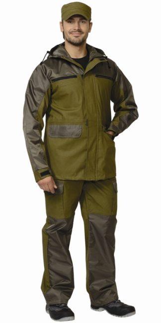 """Костюм """"СИРИУС-ЭВЕРЕСТ"""" : куртка, брюки (п-но палаточное) хаки"""