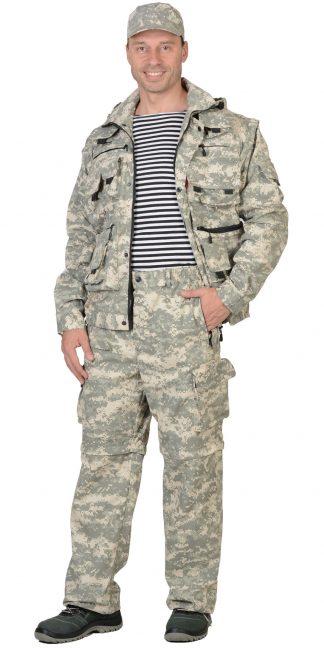 "Костюм ""СИРИУС-Тигр"" куртка, брюки (тк. Рип-стоп 210) КМФ Пустыня"