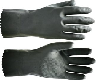 "Перчатки КЩС -1-SP"" р.7(S),8(M),9(L),10(XL),11(XXL) (латекс,слой Silver, т.0,45мм,дл.300мм.),в уп120"