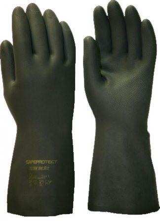 "Перчатки ""ХЕВИ ВЕЙТ"" р.M,L,XL,XXL (латекс, полихлоропрен, хлопк.слой, толщ.0,67мм,дл.320мм.),в уп144"