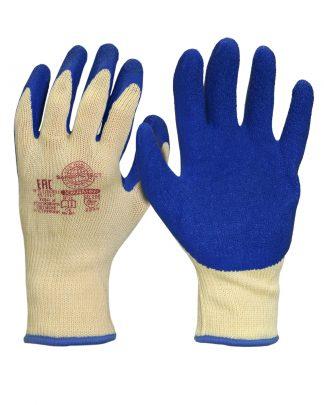 """Перчатки """"Хедмен"""" р.S,M,L,XL (хлопок +п/э с покрытием губчатый латекс,10-й класс вязки),в уп360пар"""