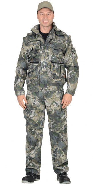"""Костюм """"СИРИУС-Тигр"""" куртка, брюки (тк. Орион 210) КМФ Степь"""