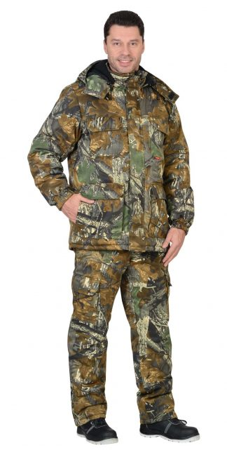 "Костюм ""СИРИУС-ФОРЕСТ"" : зимний куртка дл., брюки (тк.CROWN-230) КМФ"