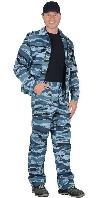 """Костюм """"СИРИУС-Вымпел"""" куртка, брюки (тк.смесовая) КМФ Серый вихрь"""