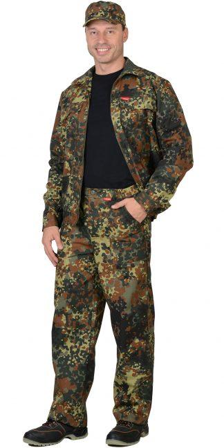 "Костюм ""СИРИУС-Рысь"" куртка, брюки (тк. Рип-стоп 210) КМФ Флектарн"