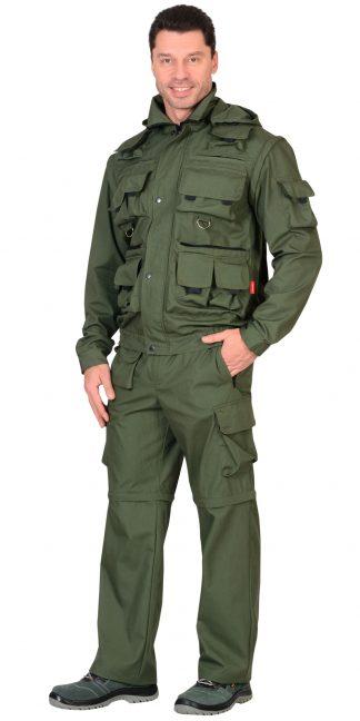 """Костюм """"СИРИУС-Тигр"""" куртка, брюки (тк. Рип-стоп 210) Олива"""