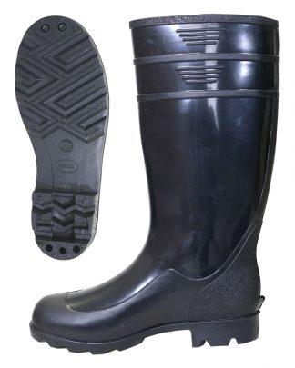 Сапоги ПВХ  мужские, высота 38 см