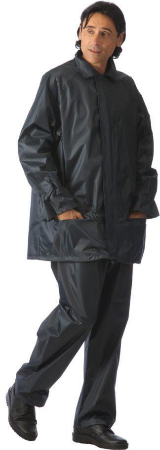 Костюм  нейлоновый: куртка,  брюки синий