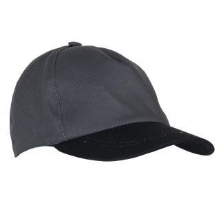 Кепка- Бейсболка т.серая с черным козырьком (тк. Rodos)