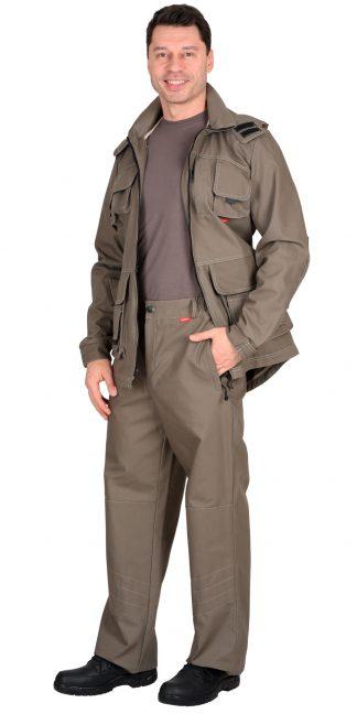 """Костюм """"СИРИУС-Мичиган-2"""" куртка, брюки (тк. Canvas) темный песок"""