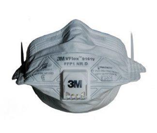 Респиратор 3М VFlex 9161 V с клап. выдоха, FFP1 NR D (4ПДК) в уп.15 шт. (продавать уп. по 15 шт.)