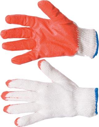 Перчатки х/б с латексным покрытием высший сорт (Е.С.), 13-й кл., 34гр.