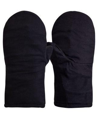 Рукавицы утеплённые (палаточное полотно, натуральный мех)
