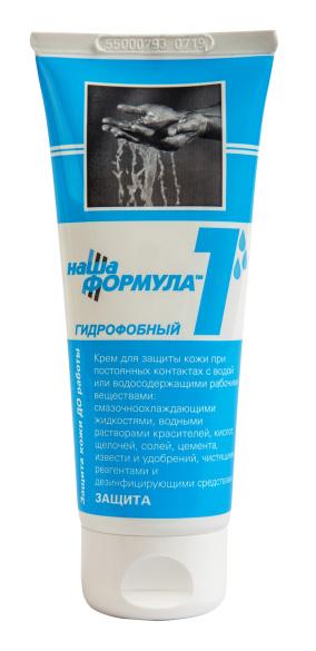 """Крем гидрофобный """"Наша Формула 1"""" туба 100 мл.(цена за шт.,в упаковке 50ш.)"""
