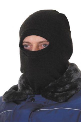 Подшлемник трикотажный черный