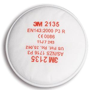 Предфильтр 3М 2135, герметично упак.по 2 шт, цена за 1 шт., продавать кратно 2 шт.