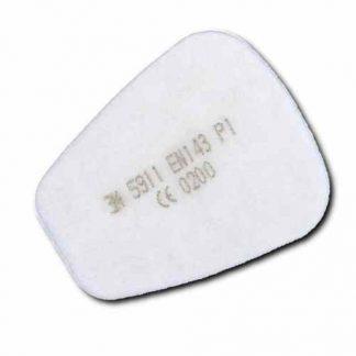 Предфильтр 3М 5911, герметично упак.по 2 шт, цена за 1 шт., продавать кратно 2 шт.