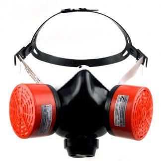 Респиратор РУ газо-пылезащитный с патроном В1Р1D (В)