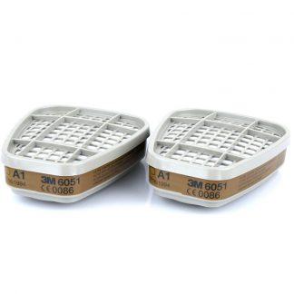 Фильтр 3М 6051, герметично упак.по 2 шт, цена за 1 шт., продавать кратно 2 шт.