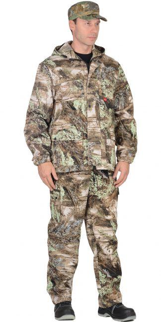 "Костюм ""СИРИУС-Егерь +"" куртка, брюки (тк. Кроун 230) КМФ Серый мох"